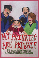 Cover of Stacey Honowitz's book - My Privates Are Private